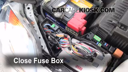 2007 Nissan Altima S 2.5L 4 Cyl.%2FFuse Engine Part 2 replace a fuse 2007 2013 nissan altima 2008 nissan altima s 2 5 2008 nissan altima se coupe fuse box at creativeand.co