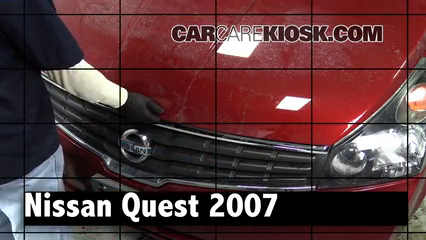 2007 Nissan Quest 3.5L V6 Review