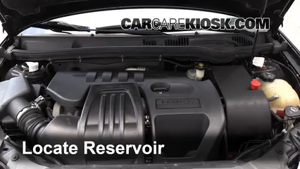 Add Windshield Washer Fluid Pontiac G5 (2007-2009) - 2007 Pontiac G5 2.2L 4  Cyl.CarCareKiosk