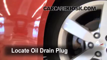2007 Pontiac G6 3.5L V6 Oil Change Oil and Oil Filter