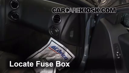 interior fuse box location: 2004-2008 pontiac grand prix