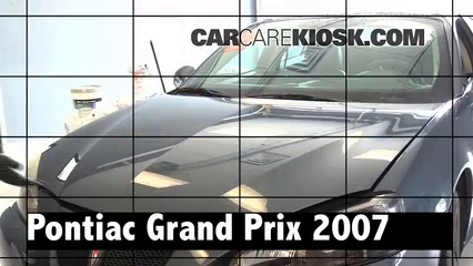 2007 Pontiac Grand Prix 3.8L V6 Review