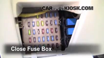 Interior Fuse Box Location: 2005-2009 Subaru Legacy - 2007 ...