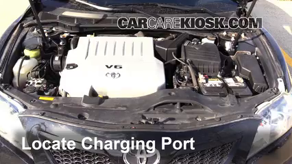 How to Add Refrigerant to a 2007-2011 Toyota Camry - 2007 Toyota