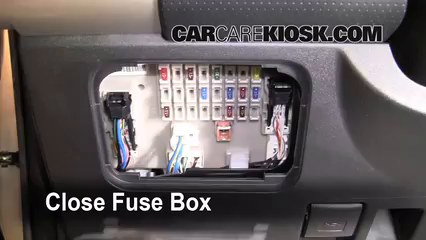 Interior Fuse Box Location 2007 2014 Toyota Fj Cruiser