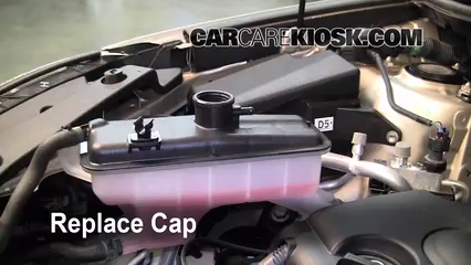 how to change coolant for winter