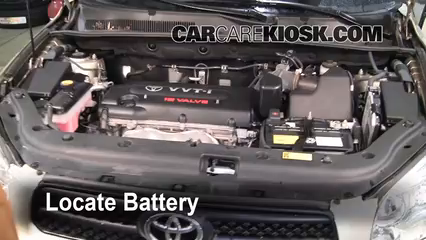 2007 Toyota RAV4 2.4L 4 Cyl. Battery