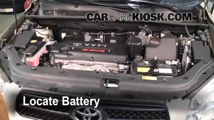 battery replacement 2006 2012 toyota rav4 2007 toyota rav4 2 4l 42007 toyota rav4 2 4l 4 cyl battery clean battery \u0026 terminals