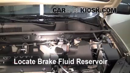 2007 Toyota RAV4 2.4L 4 Cyl. Brake Fluid
