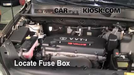 Interior Fuse Box Location: 2006-2012 Toyota RAV4 - 2007 Toyota RAV4 ...