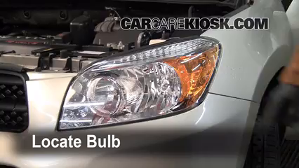 2007 Toyota RAV4 2.4L 4 Cyl. Lights Turn Signal - Front (replace bulb)