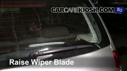 2007 Volkswagen Fox Urban 1.4L 4 Cyl. Windshield Wiper Blade (Rear)