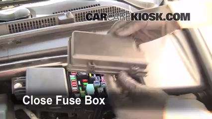Replace a Fuse: 2004-2008 Acura TL - 2005 Acura TL 3.2L V6   Acura Tl Fuse Box Replacement      CarCareKiosk