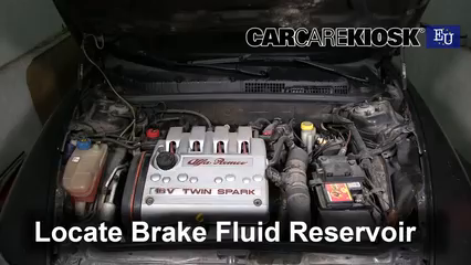 2007 Alfa Romeo 147 T.Spark 1.4L 4 Cyl. Liquide de frein