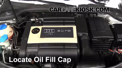 2007 Audi A3 2.0L 4 Cyl. Turbo Oil