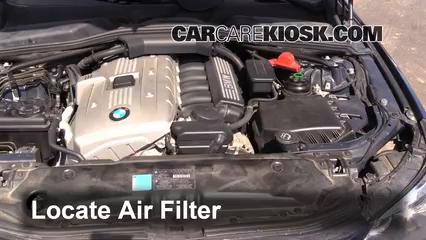 2007 BMW 525i 3.0L 6 Cyl. Filtre à air (moteur)