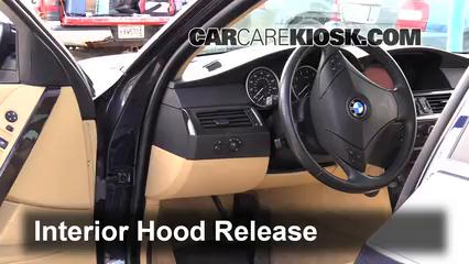 2007 BMW 525i 3.0L 6 Cyl. Capot