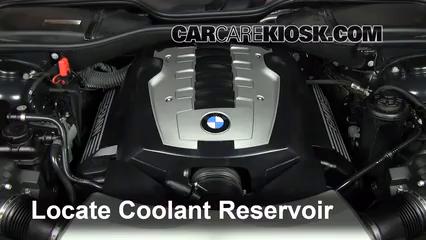 2007 BMW 750Li 4.8L V8 Pérdidas de líquido