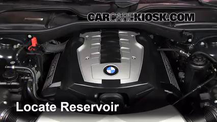 2007 BMW 750Li 4.8L V8 Líquido limpiaparabrisas