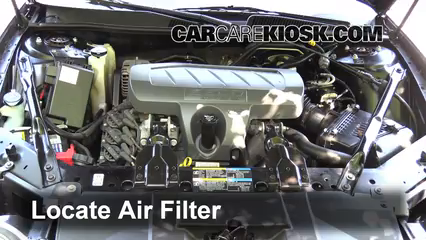 2007 Buick LaCrosse CXL 3.8L V6 Air Filter (Engine) Replace