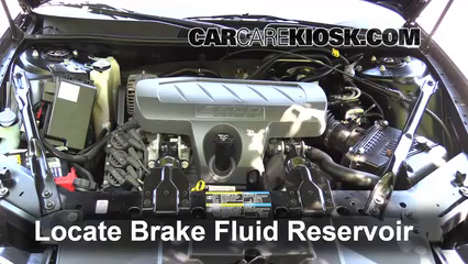 2007 Buick LaCrosse CXL 3.8L V6 Brake Fluid Add Fluid