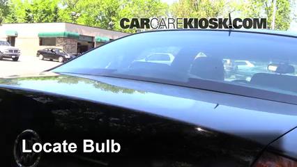 2007 Buick LaCrosse CXL 3.8L V6 Lights Center Brake Light (replace bulb)