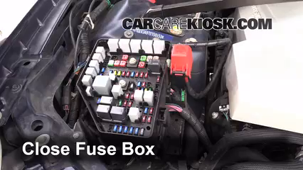 Replace a Fuse: 2004-2009 Cadillac SRX - 2007 Cadillac SRX 4.6L V8 | 2008 Cadillac Srx Fuse Box |  | CarCareKiosk