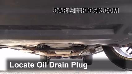2007 Cadillac SRX 4.6L V8 Aceite Cambiar aceite y filtro de aceite