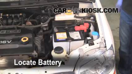 2007 Chevrolet Aveo5 Special Value 1.6L 4 Cyl. Batería