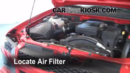 2007 Chevrolet Colorado LT 3.7L 5 Cyl. Crew Cab Pickup (4 Door) Air Filter (Engine) Check