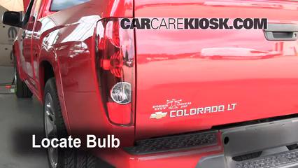2007 Chevrolet Colorado LT 3.7L 5 Cyl. Crew Cab Pickup (4 Door) Lights Turn Signal - Rear (replace bulb)