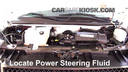 2007 Chevrolet Express 3500 LS 6.0L V8 Standard Passenger Van (3 Door) Power Steering Fluid Fix Leaks