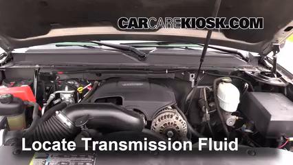 2007 Chevrolet Suburban 2500 LT 6.0L V8 Transmission Fluid