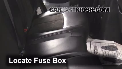 Interior Fuse Box Location: 2002-2009 Chevrolet Trailblazer - 2007  Chevrolet Trailblazer SS 6.0L V8 | 2007 Trailblazer Fuse Box |  | CarCareKiosk
