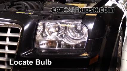 2007 Chrysler 300 2.7L V6 Luces Luz de marcha diurna (reemplazar foco)