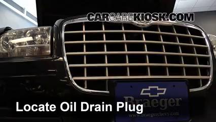 2007 Chrysler 300 2.7L V6 Huile Changer l'huile et le filtre à huile