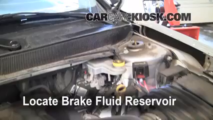 2007 Chrysler Sebring Limited 2.4L 4 Cyl. Brake Fluid