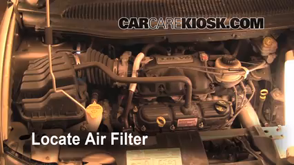 2007 Dodge Grand Caravan SXT 3.8L V6 Air Filter (Engine)