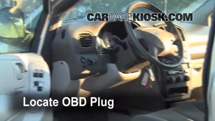 2007 Dodge Grand Caravan SXT 3.8L V6 Check Engine Light