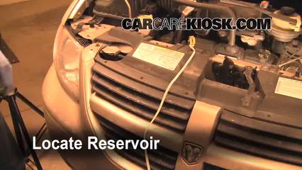 2007 Dodge Grand Caravan SXT 3.8L V6 Windshield Washer Fluid