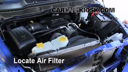 2009 Dodge Ram 1500 SLT 5.7L V8 Crew Cab Pickup (4 Door) Air Filter (Engine)