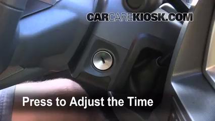 2007 Dodge Ram 1500 Laramie 5.7L V8 Extended Crew Cab Pickup Clock