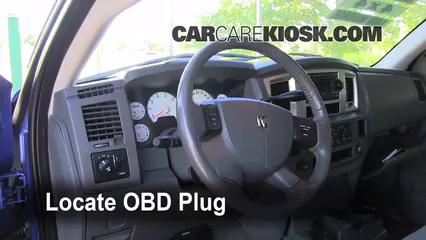 2007 Dodge Ram 1500 Laramie 5.7L V8 Extended Crew Cab Pickup Check Engine Light