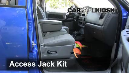 2007 Dodge Ram 1500 Laramie 5.7L V8 Extended Crew Cab Pickup Jack Up Car