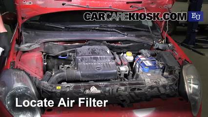 2007 Fiat Grande Punto Active 1.2L 4 Cyl. Air Filter (Engine)