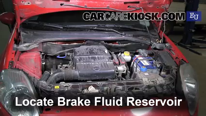 2007 Fiat Grande Punto Active 1.2L 4 Cyl. Brake Fluid