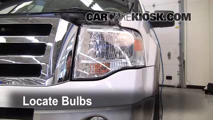 2007 Ford Expedition EL Eddie Bauer 5.4L V8 Luces Luz de estacionamiento (reemplazar foco)