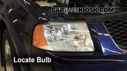 2007 Ford Freestyle Limited 3.0L V6 Luces Luz de carretera (reemplazar foco)