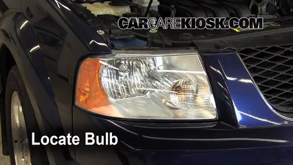2007 Ford Freestyle Limited 3.0L V6 Luces Luz de giro delantera (reemplazar foco)
