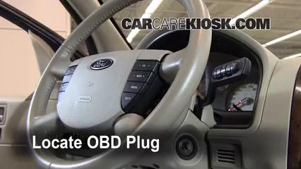 2007 Ford Freestyle Limited 3.0L V6 Check Engine Light